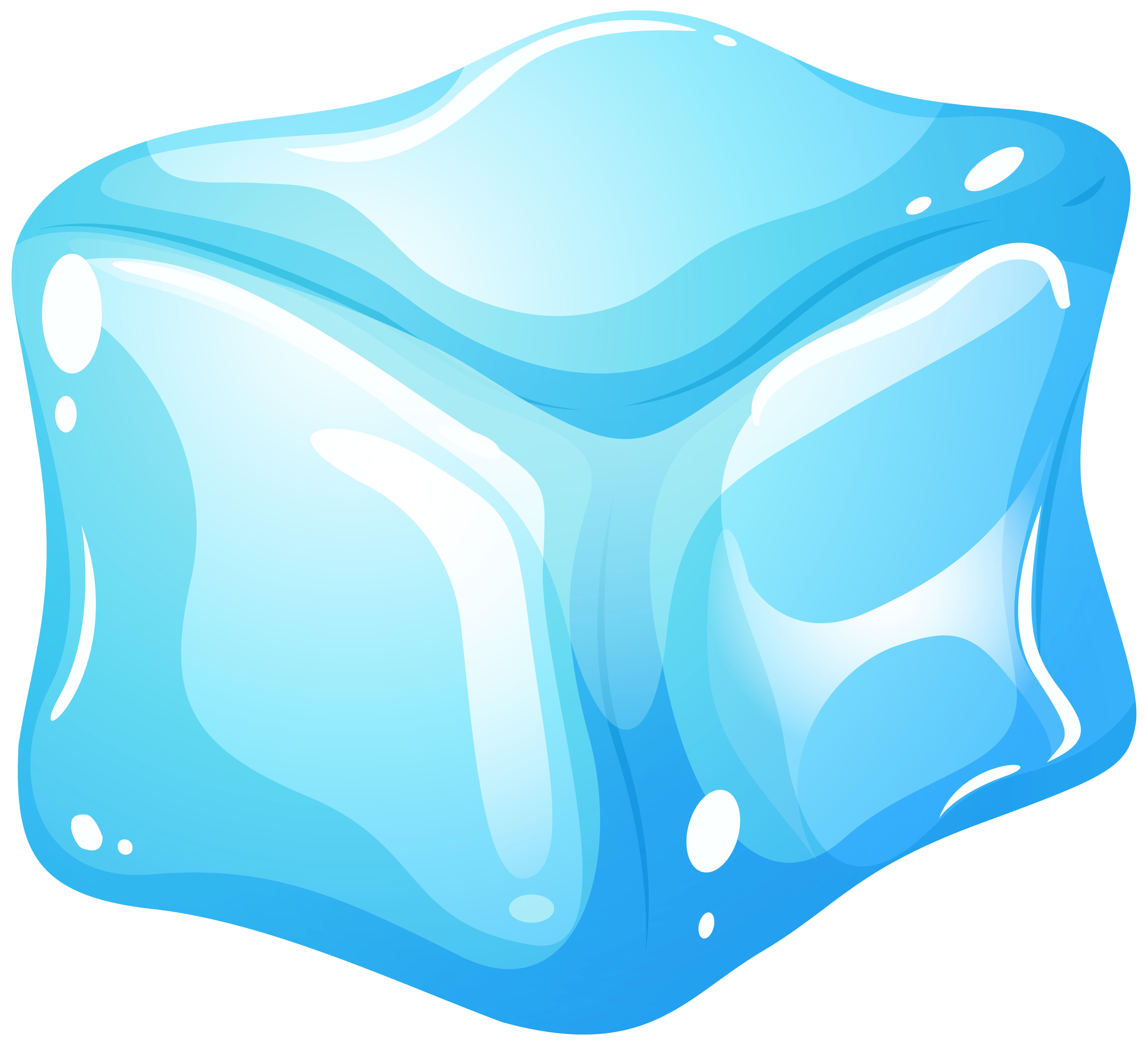Ice Cube Blue Clip Art Web Clipart 2-Ice cube blue clip art web clipart 2-6
