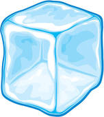 Ice Cube Royalty Free Clip Art