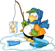 Ice Fishing Clip Art
