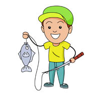 ice fishing clipart. Size: 61 Kb