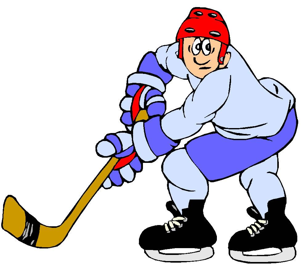 Ice Hockey Clip Art Hocky040 Gif