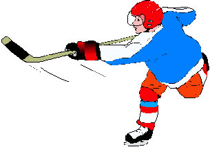 Ice hockey clip art shooter 1