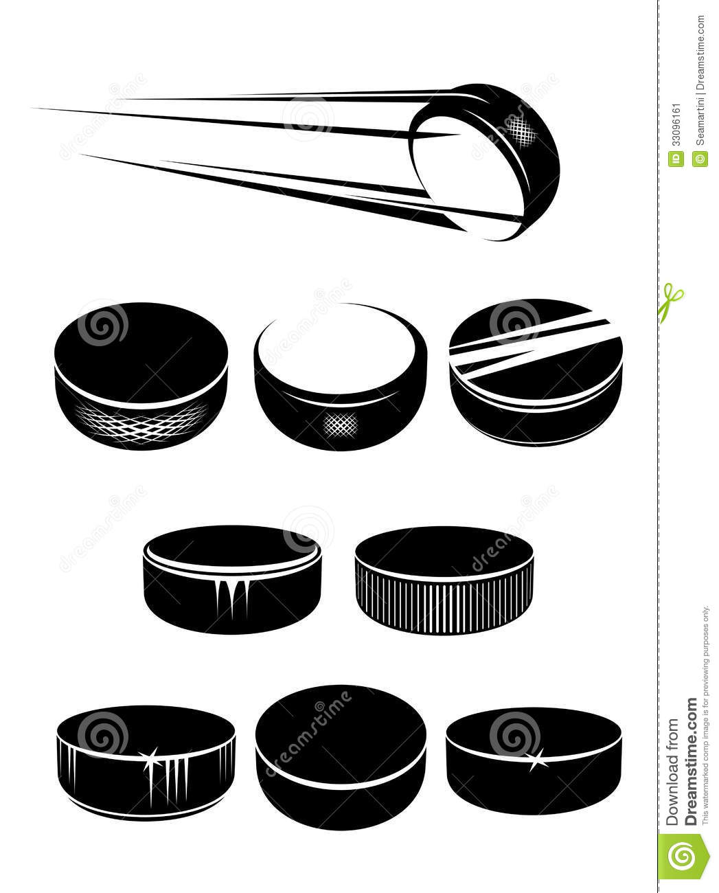 Ice Hockey Puck Clipart - Cli - Hockey Puck Clipart