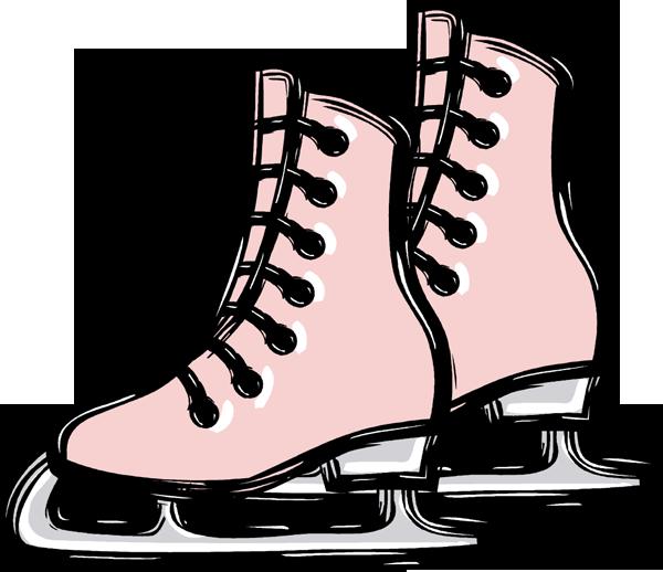 Ice Skate Clip Art Clipart Best