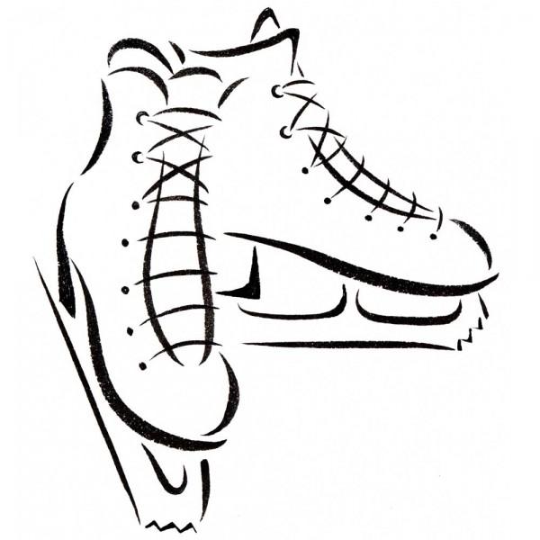 Ice Skates icon « Sandy Haight Illustration