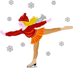 Ice Skating Clip Art
