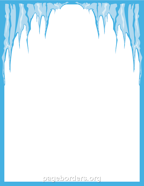 Icicle Border