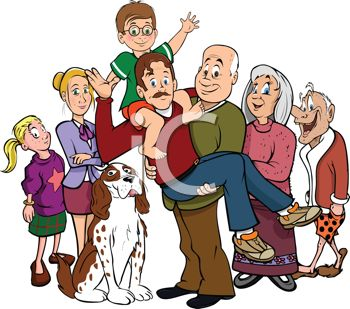iCLIPART - Royalty Free Clipart Image of-iCLIPART - Royalty Free Clipart Image of a Family Portrait-10