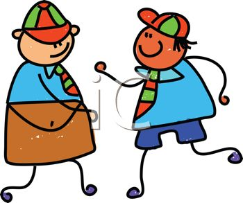 Iclipart Royalty Free Clipart Image Of T-Iclipart Royalty Free Clipart Image Of Two School Boys-12