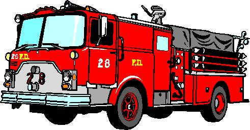 Icy Afire Firefighter Clip Art