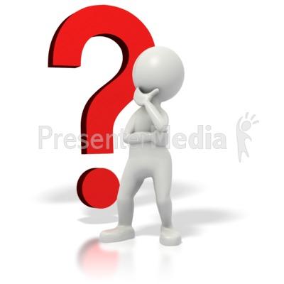 ID# 1680 - Stickman Question Mark Thinki-ID# 1680 - Stickman Question Mark Thinking - Presentation Clipart-17