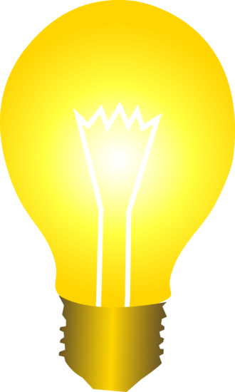 Idea light bulb clip art free vector for free download about image