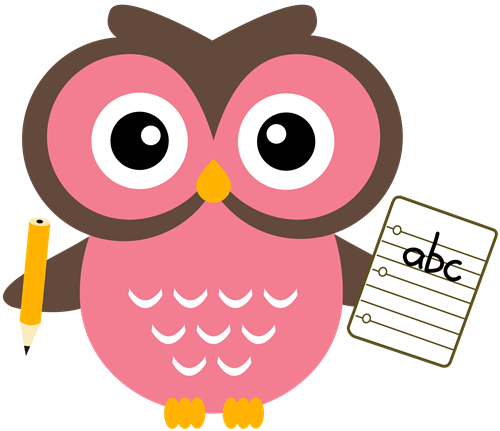 Ideas To Help First Grade Hom - Clip Art Owls