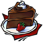 Idiom Piece Of Cake Clipart #1
