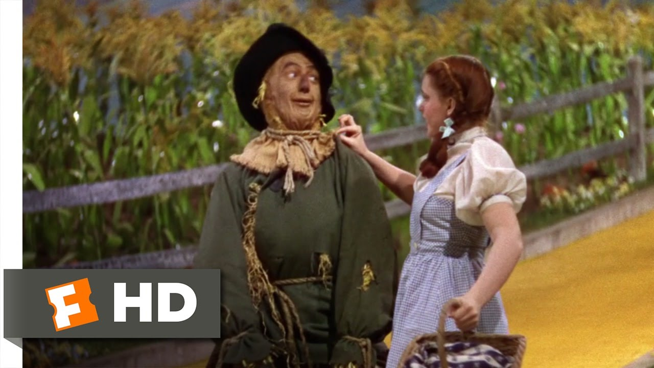 If I Only Had A Brain - The Wizard Of Oz-If I Only Had a Brain - The Wizard of Oz (4/8) Movie CLIP (1939) HD - YouTube-5