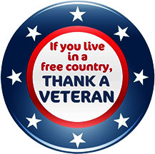 If you live in a free country, thank a v-If you live in a free country, thank a veteran-12