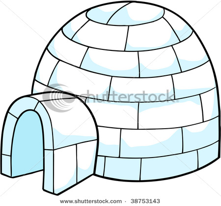 igloo clip art black and white-igloo clip art black and white-9
