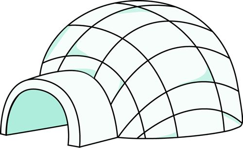 Igloo clipart 8 id clipart pictures
