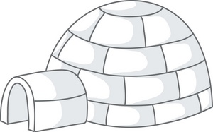 igloo clipart Clipart