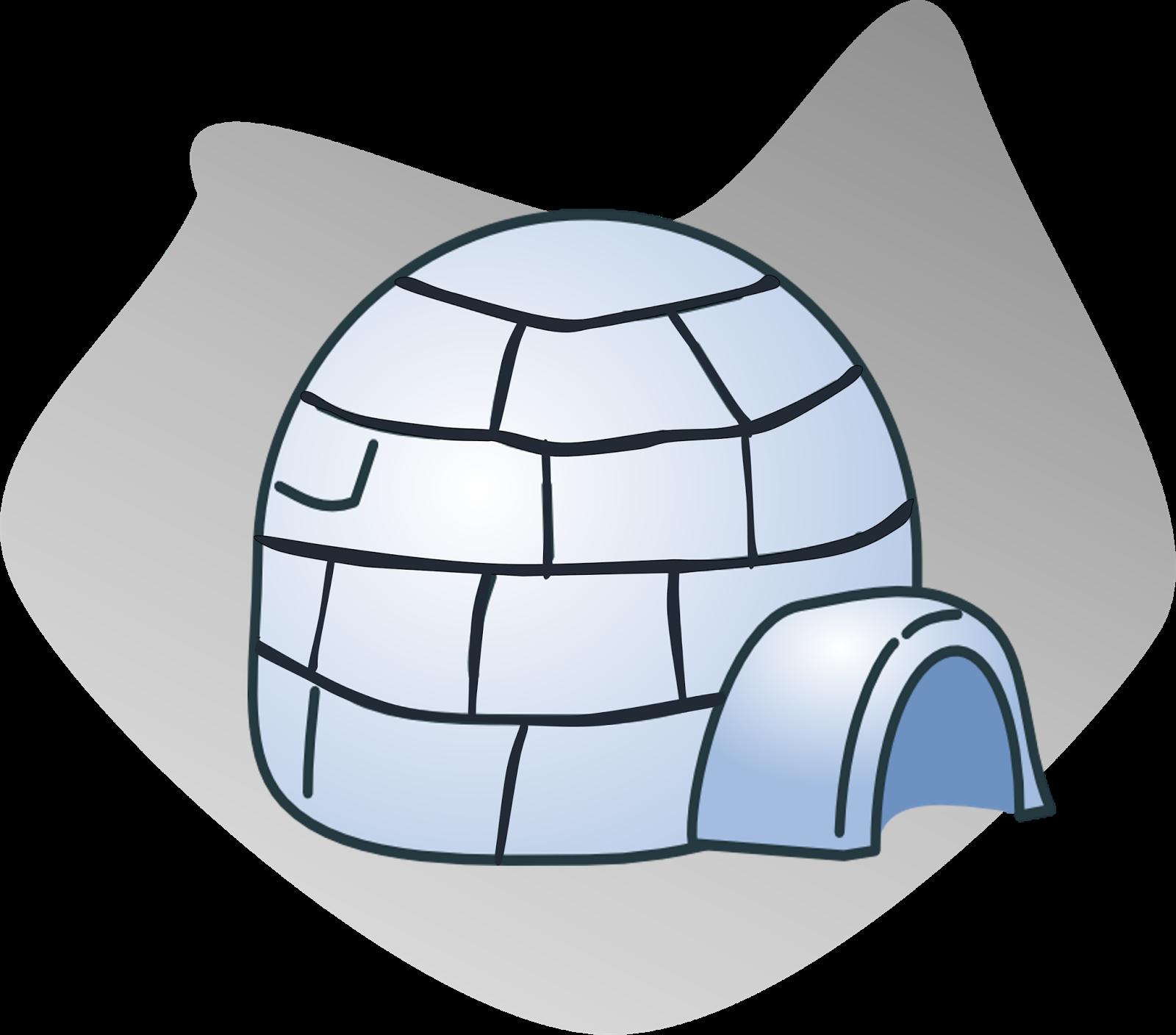 Igloo Clipart-Igloo Clipart-16