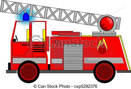 ... Illustration of Fire Engine