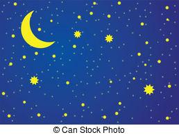 illustration of night sky.
