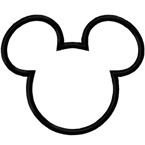 Image detail for -Mickey Mouse Head Clipart Tattoo