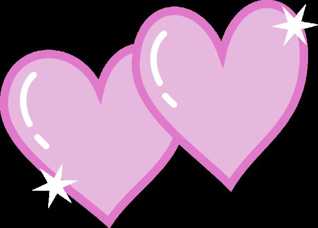Image - Double heart cutie .