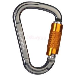 Image Is Loading 25KN-Carabiner-D-Ring-f-Image is loading 25KN-Carabiner-D-Ring-for-Rock-Climbing-Lock--10