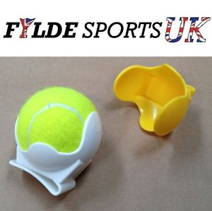 Image is loading Pro-039-s-Pro-Tennis-Ball-Holder-WHITE-