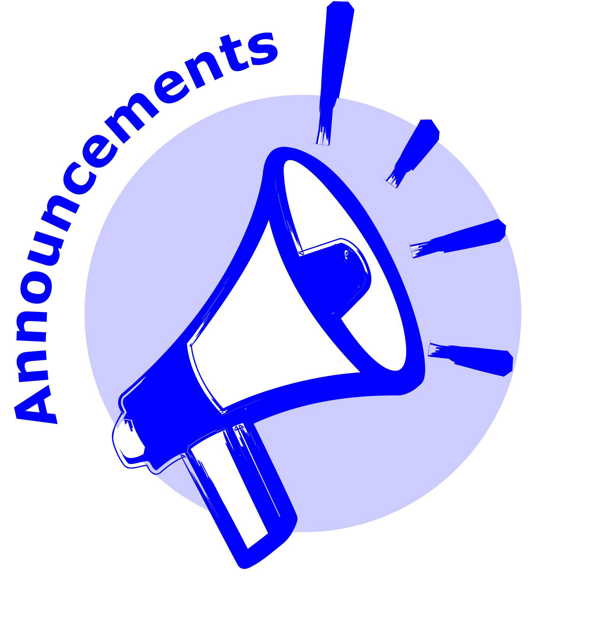 Image of announcement clipart 0 announcements clipart 2 image