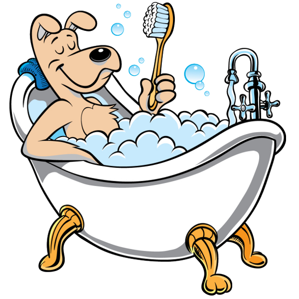 Image of Bath Clipart Bathtub - Bathtub Clip Art