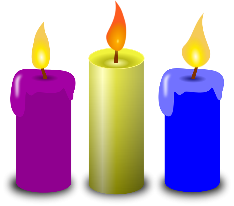 Image of birthday candle clipart 4 of birthday candles clip