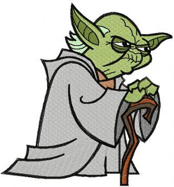 Image of Clip Art Yoda War .