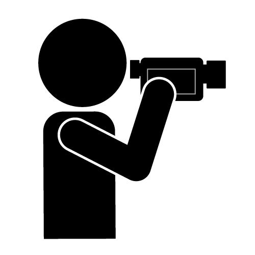 Image of video camera clipart surveillance clip art