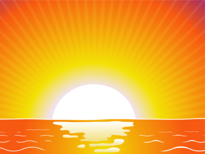 Image sunrise christian powerpoint backgrounds christart clipart