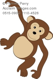 image tag: hanging monkey