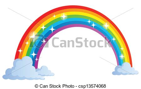 ... Image with rainbow theme 1 - eps10 vector illustration.