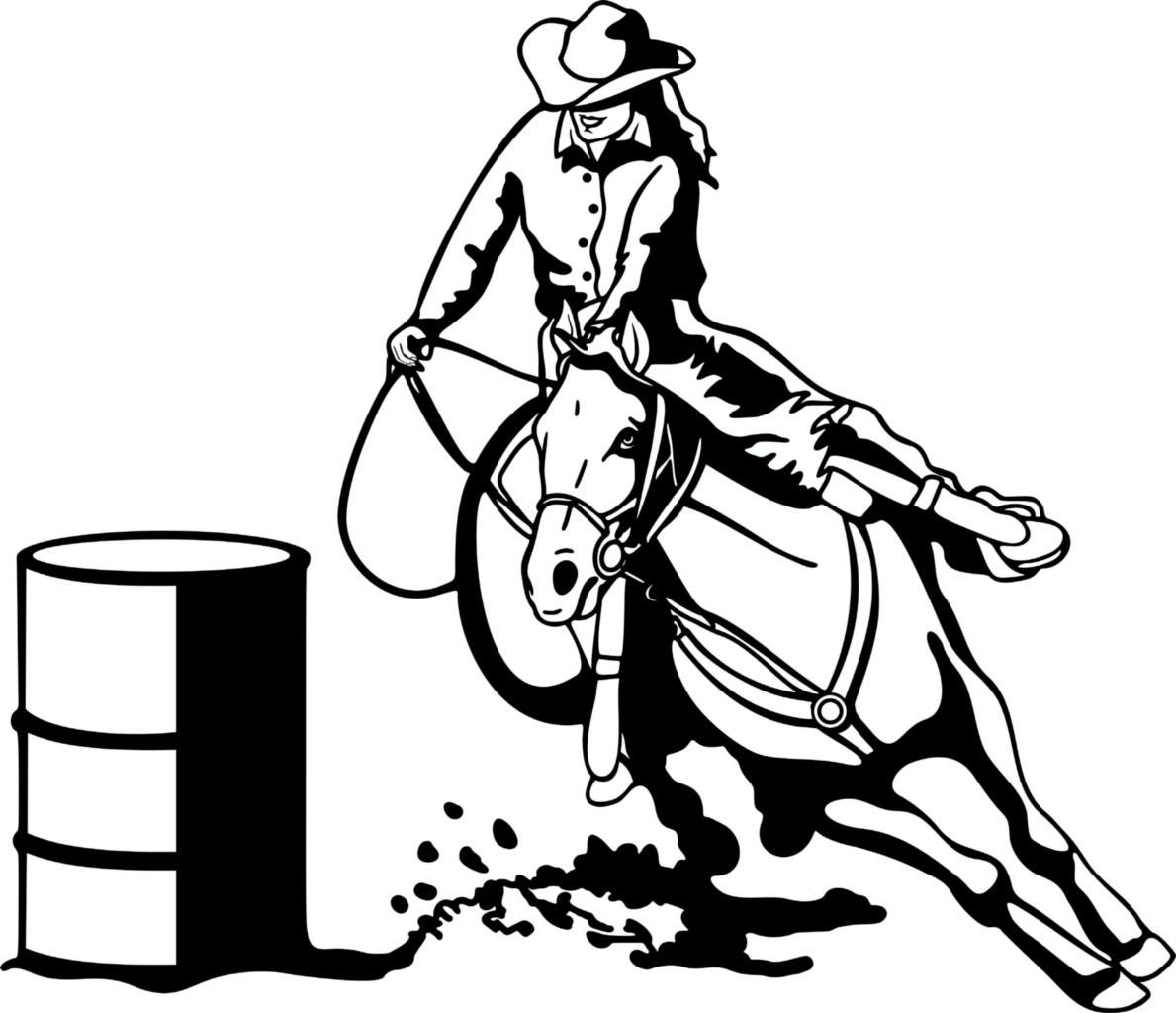 Images For Barrel Racing Pictures Clip A-Images For Barrel Racing Pictures Clip Art-16