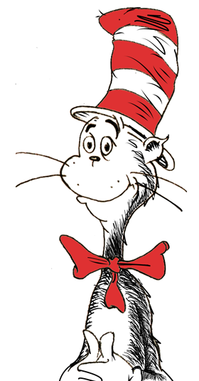 Images for cat in the hat thing 1 and 2 clip art clipart