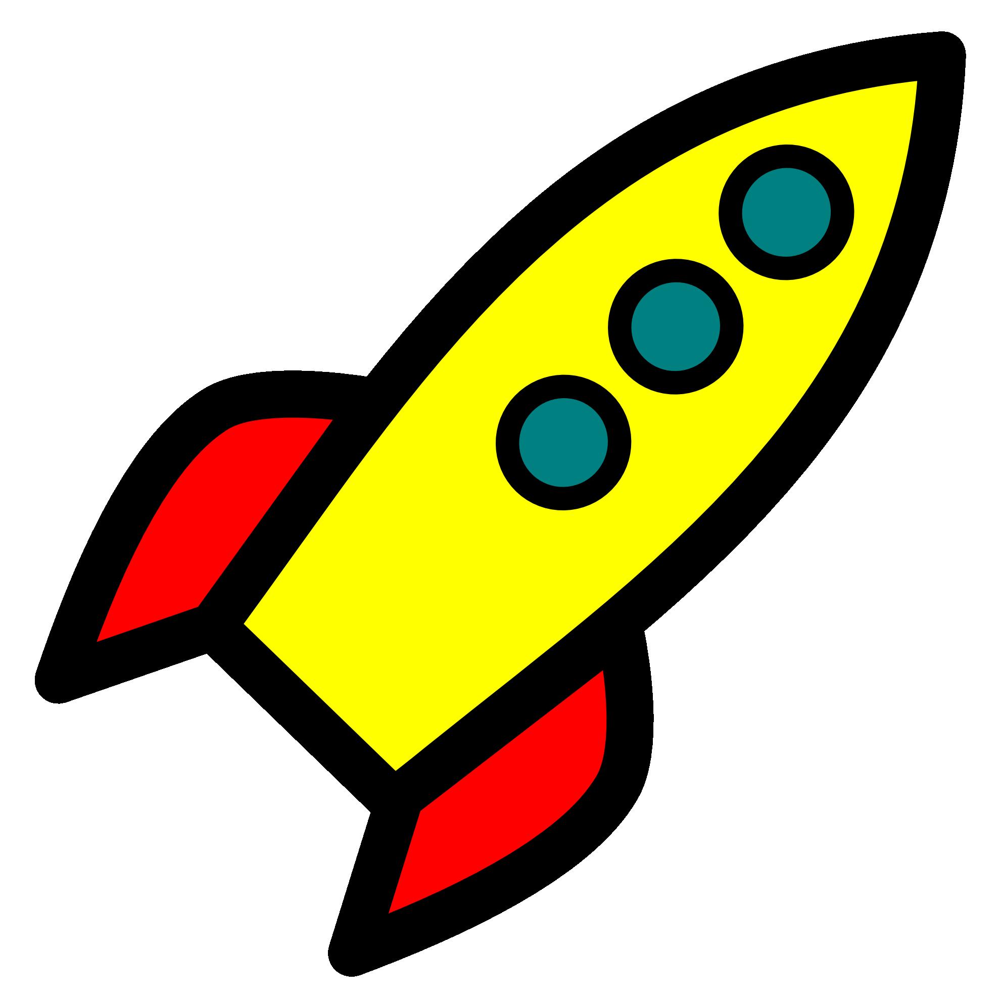 Images For Clipart Rocket Ship