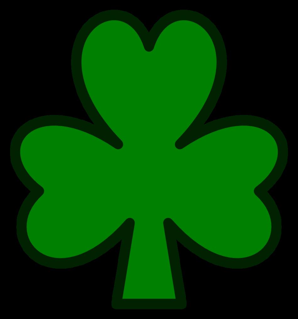 Images For U0026gt; Irish Shamrock Clip -Images For u0026gt; Irish Shamrock Clip Art Black And White-13