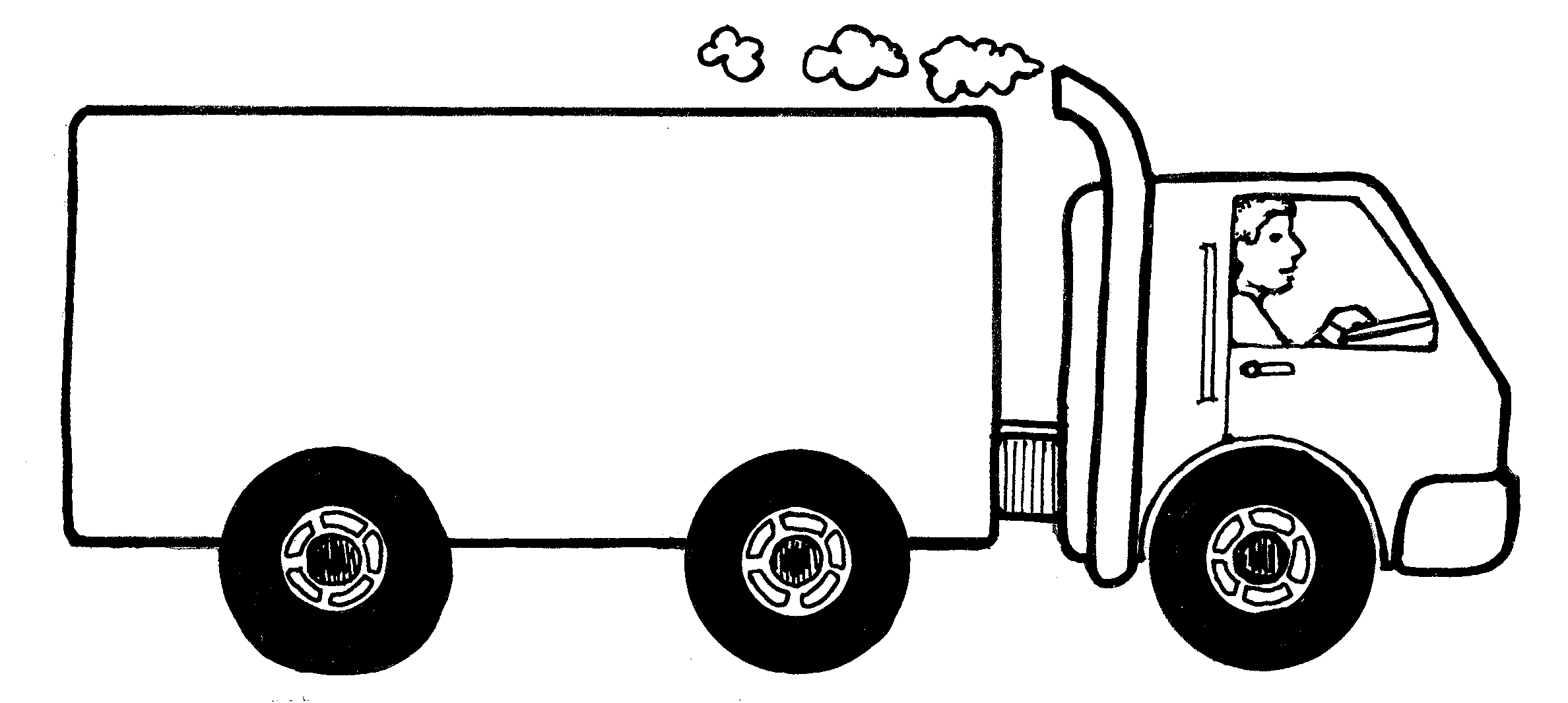 Images For Moving Van Clipart