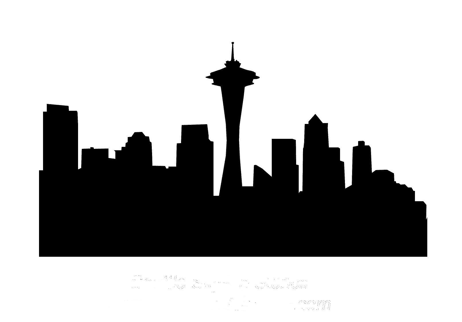 Images For Simple City Skyline Clip Art-Images For Simple City Skyline Clip Art-11