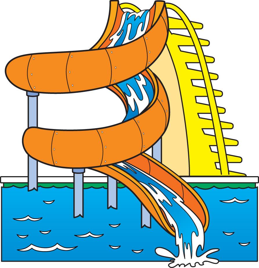 Images For Water Slides Clip Art-Images For Water Slides Clip Art-3