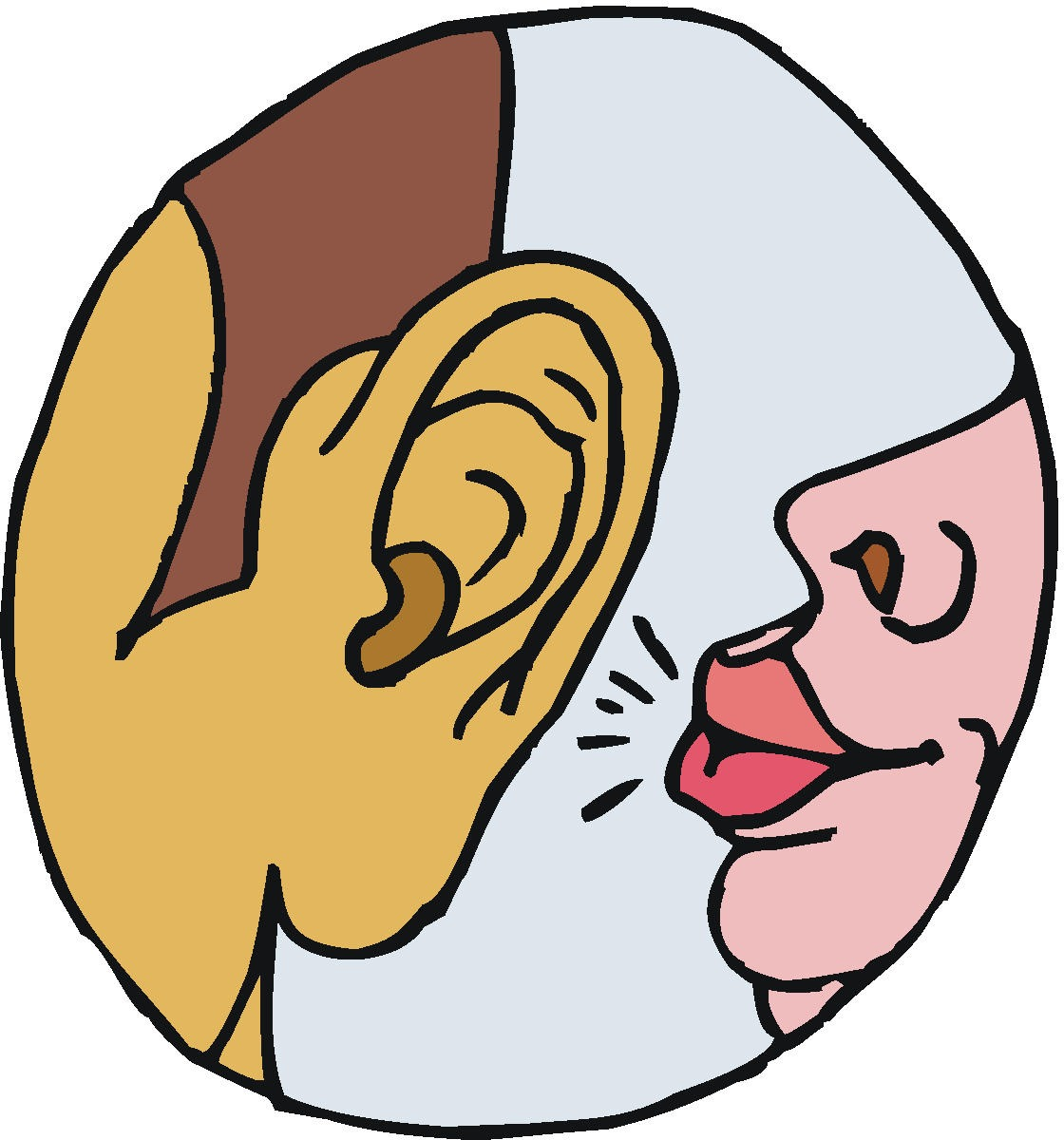 Images For Whisper Voice Clip Art