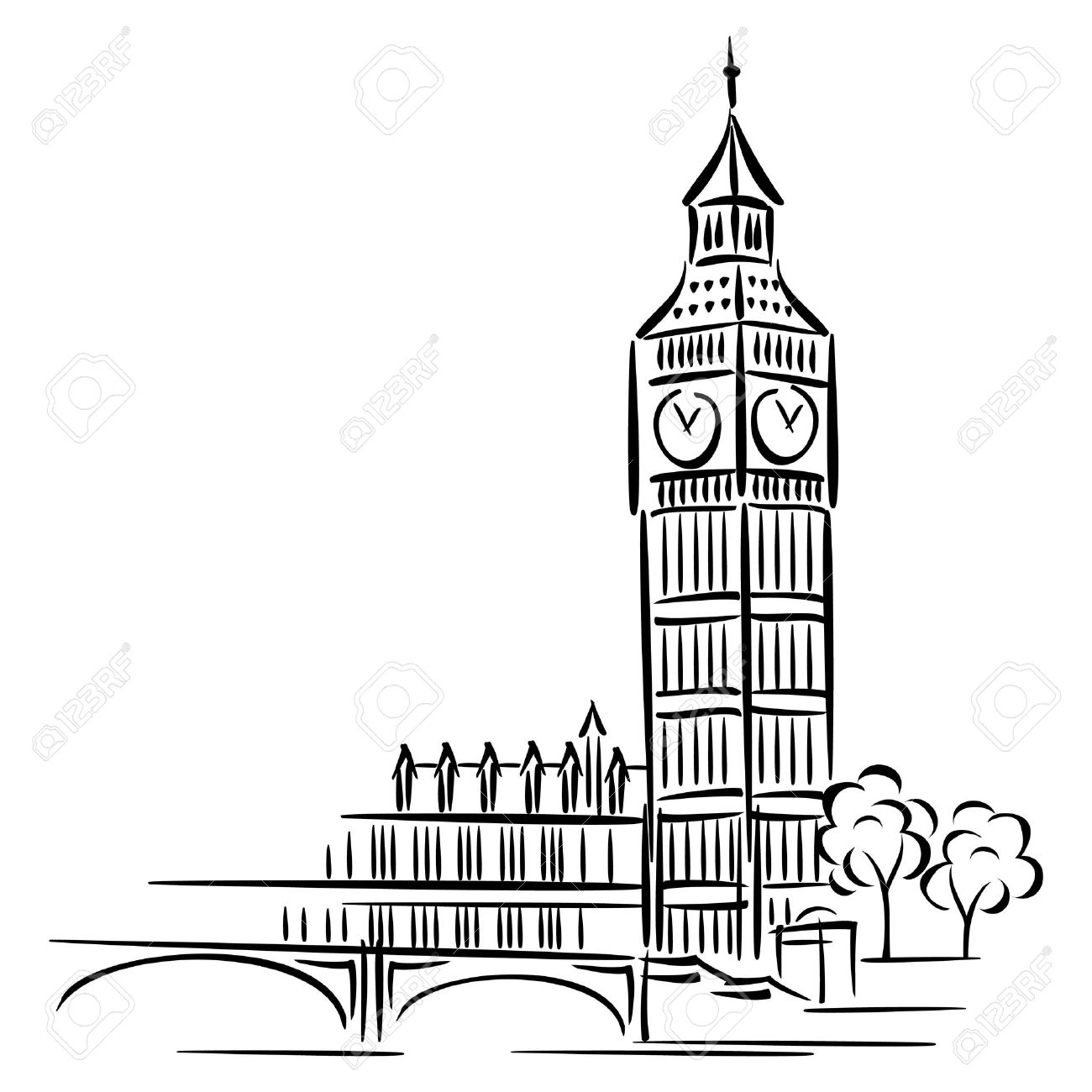 images of Big Ben in London .