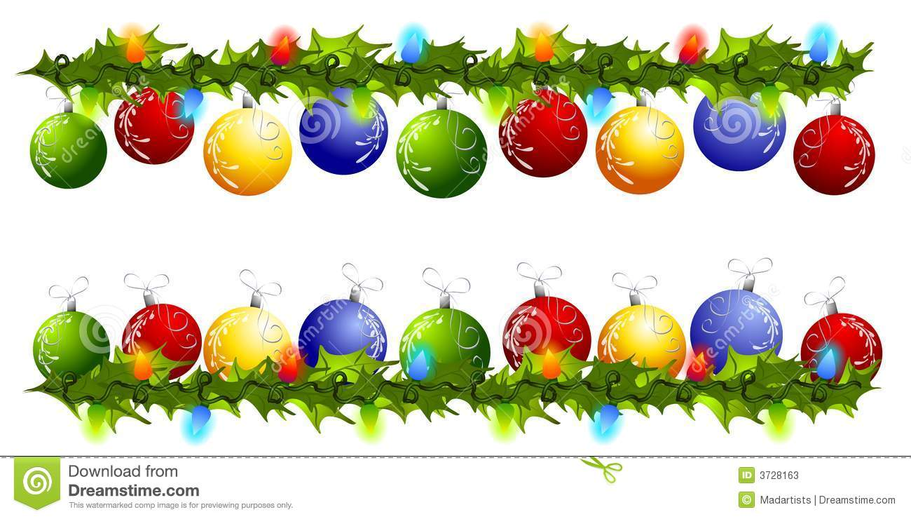 Images of christmas decorations clipart - ClipartFest