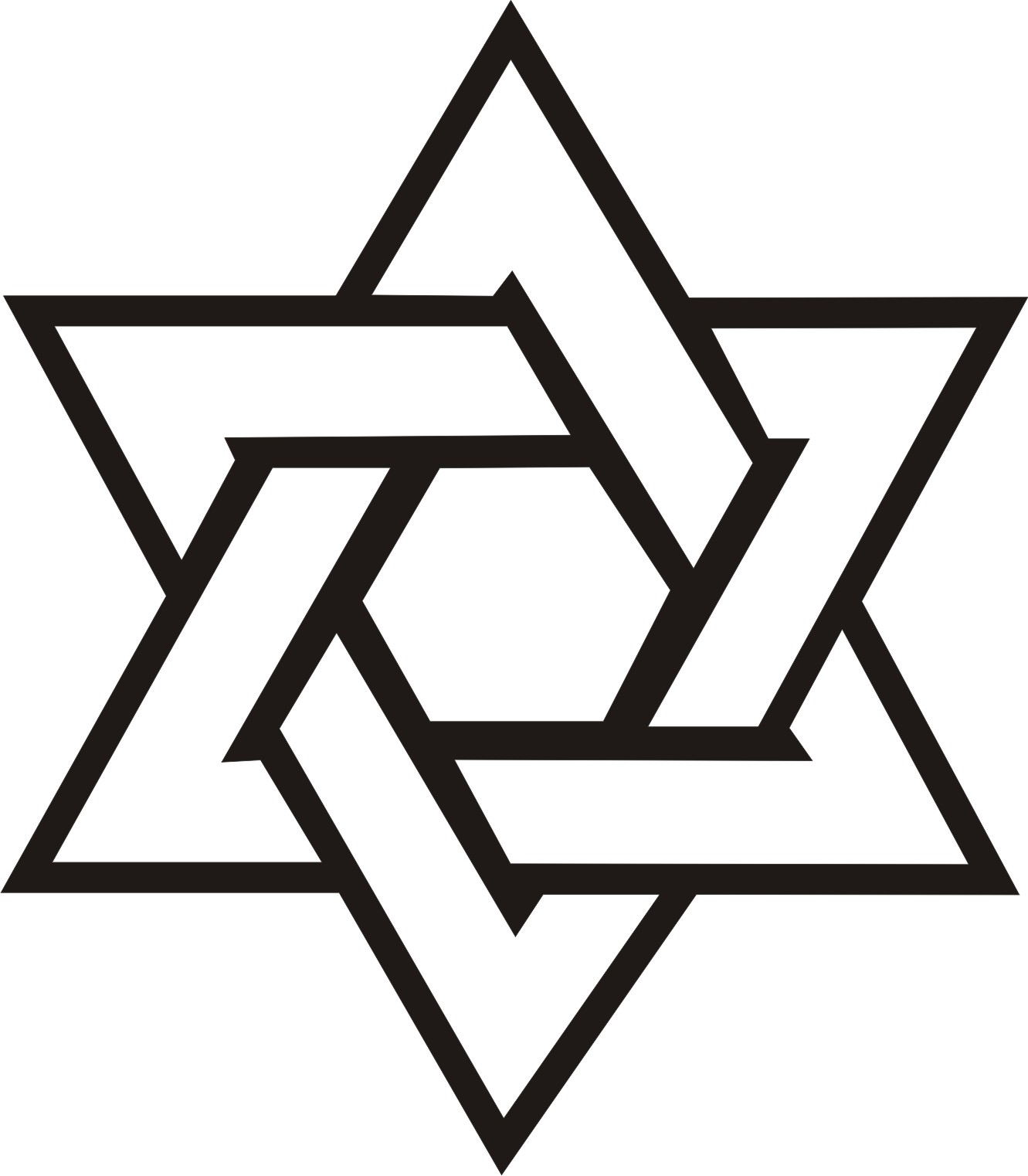 Images Of The Star Of David; Free Jewish Clipart ...