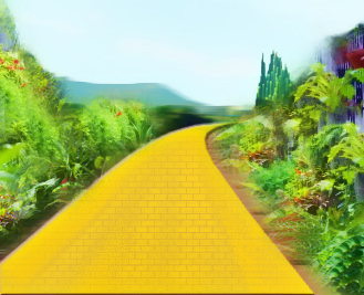 Images Results For Yellow Brick Road Clipart